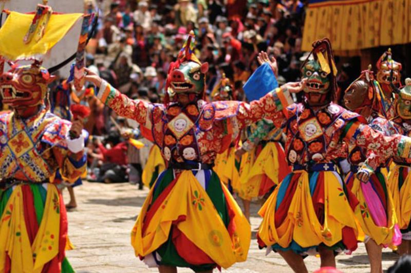 Bhutan Paro Festival Tours
