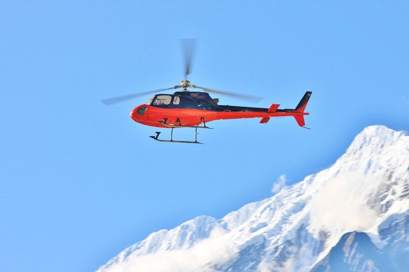 Heli Tour in mountain
