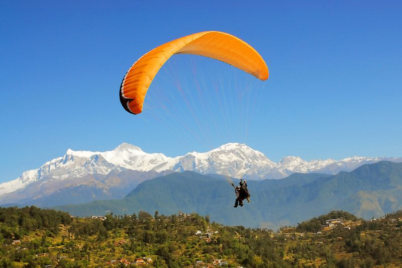 Paragliding Tours in Nepal