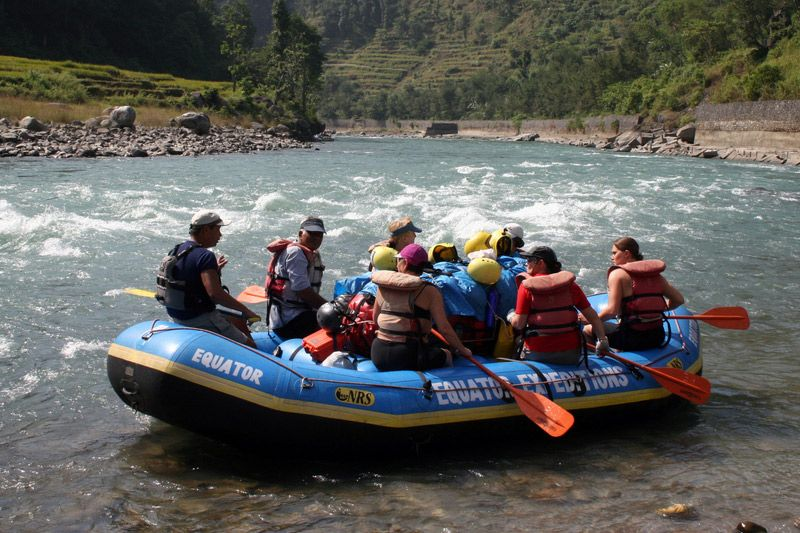 Marsyangdi River Adventure