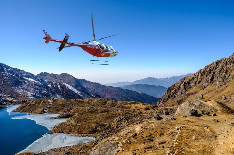 Gosainkunda Lake Helicopter Tour