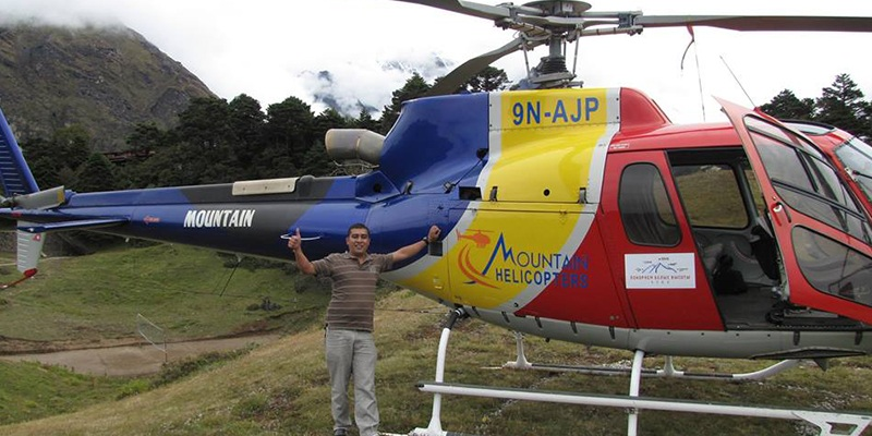Best Helicopter Sightseeing Tour in Nepal Himalayas